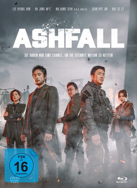 Ashfall - 2-Disc Limited Collector's Edition im Mediabook (Blu-ray + DVD)