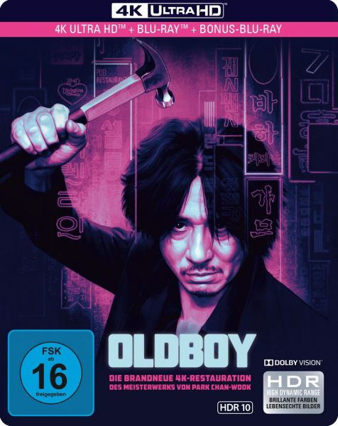 Oldboy - Limited SteelBook 4K Ultra HD (UHD + Blu-ray)
