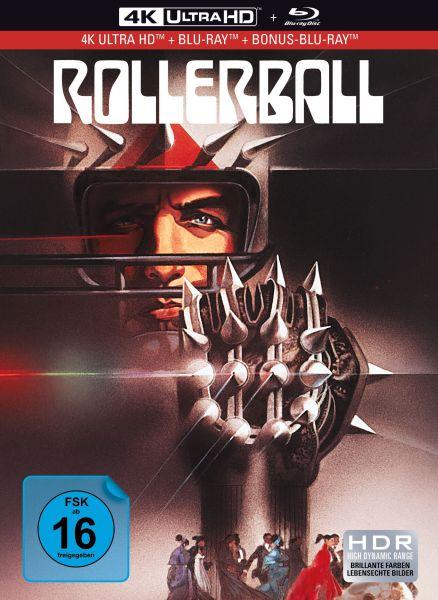 Rollerball - 3-Disc Mediabook (UHD + Blu-ray + Bonus-Blu-ray)