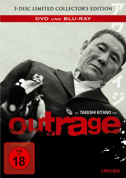 Outrage - 3-Disc Limited Collector's Edition Mediabook (OUT OF PRINT)