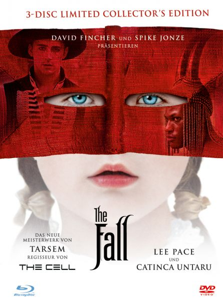 The Fall - Limited Edition (Blu-ray + 2 DVDs Mediabook) (OUT OF PRINT)
