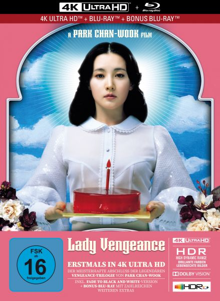 Lady Vengeance - 3-Disc Limited Collector's Edition im Mediabook (4K Ultra HD + Blu-Ray + Bonus-Blu