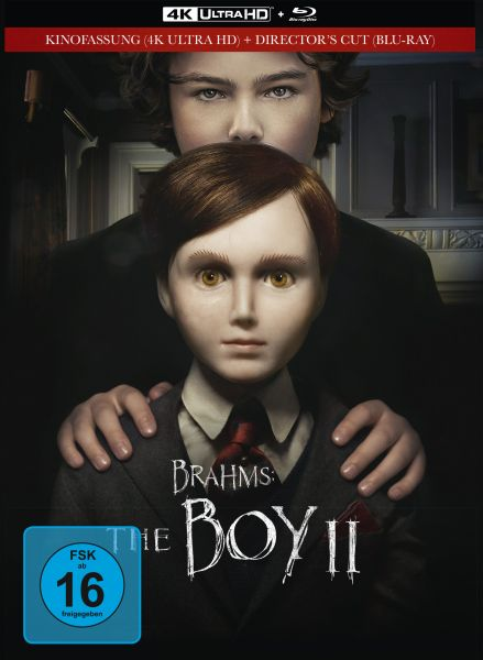 Brahms: The Boy II - 2-Disc Limited Collector's Edition im Mediabook (4K UHD + Blu-ray)