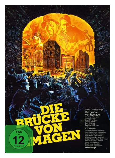 Die Brücke von Remagen - 3-Disc Limited Collector's Edition im Mediabook (2 Blu-ray + DVD)