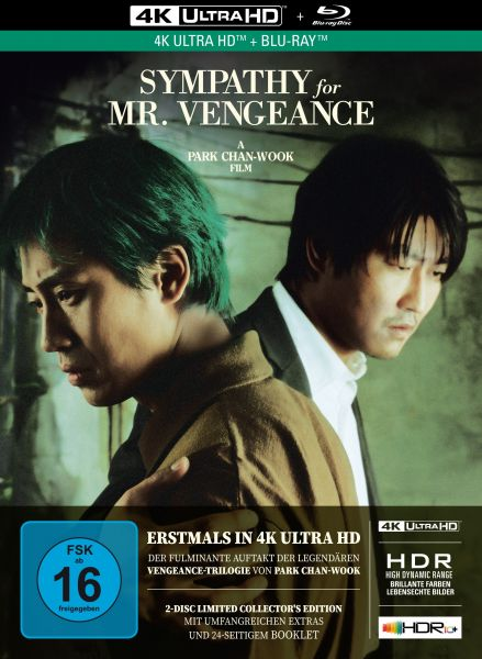 Sympathy for Mr. Vengeance - 2-Disc Limited Collector's Edition im Mediabook (4K Ultra HD + Blu-Ray)