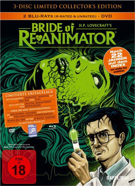 Bride Of Re-Animator (3-Disc Limited Collector's Edition Mediabook)