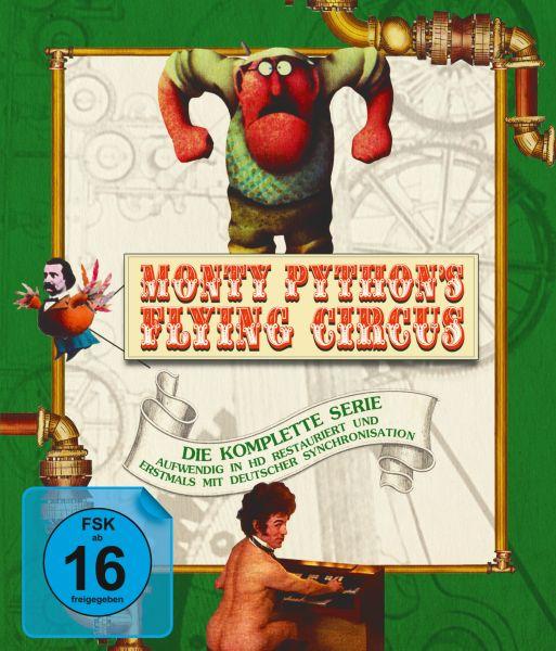 Monty Python's Flying Circus - Die komplette Serie auf Blu-Ray (Staffel 1-4)