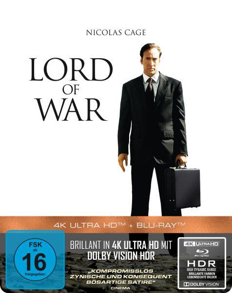 Lord of War - Händler des Todes - 2-Disc Steelbook (UHD Blu-Ray + Blu-Ray)