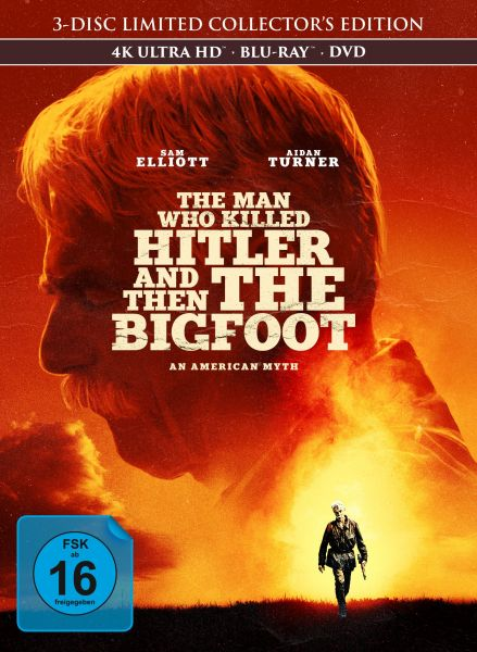 The Man Who Killed Hitler and Then The Bigfoot - 3-Disc Mediabook (UHD + Blu-ray + DVD)