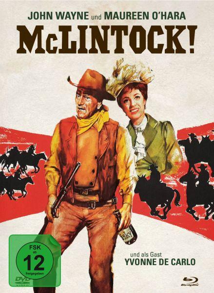 McLintock! - 2-Disc Mediabook (Blu-ray + DVD)
