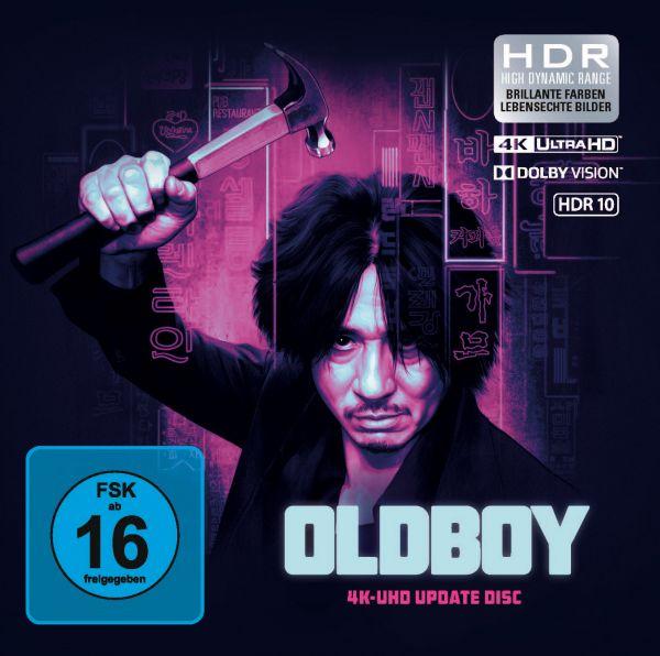 Oldboy - Upgrade UHD (Pappstecktasche)