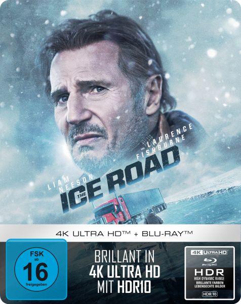 The Ice Road - 2-Disc Limited Steelbook (UHD-Blu-ray + Blu-Ray)