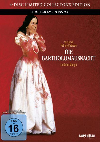 Die Bartholomäusnacht - 4-Disc Mediabook