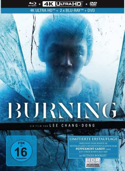 Burning - 4-Disc Mediabook (4K Ultra HD + 2 Blu-rays + DVD) (OUT OF PRINT)