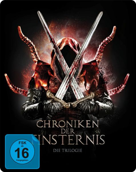 Chroniken der Finsternis - Die Trilogie - 3-Disc Limited Collerctor's SteelBook