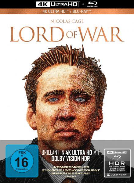 Lord of War - Händler des Todes - 2-Disc Limited Collector's Edition im Mediabook (UHD Blu-Ray + Blu