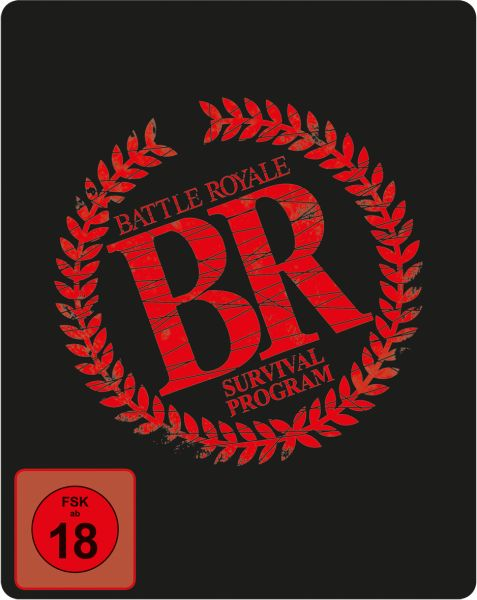 Battle Royale (uncut) - Limited SteelBook