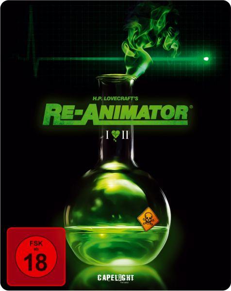Re-Animator / Bride Of Re-Animator (2-Disc Steelbook Edition)