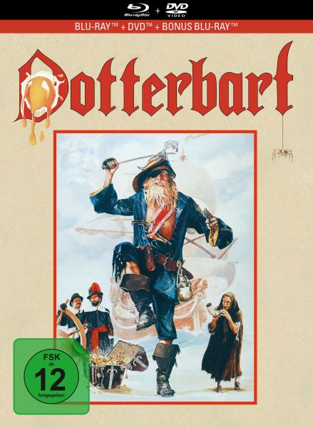 Dotterbart - 3-Disc Limited Collector's Edition im Mediabook (Blu-ray + DVD + Bonus-Blu-ray)