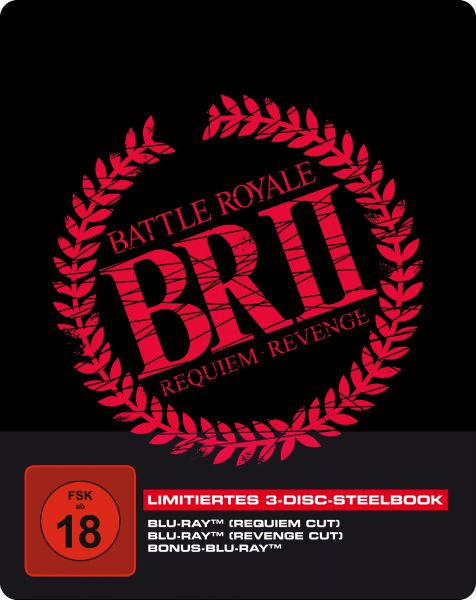 Battle Royale 2 - 3-Disc SteelBook inkl. Requiem Cut, Revenge Cut und Bonus-BD