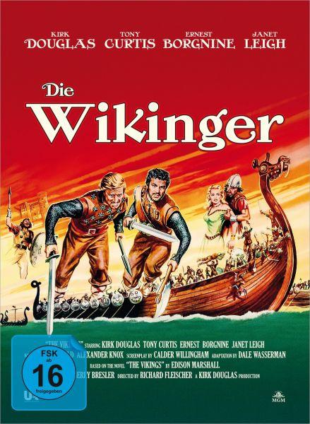 Die Wikinger - 2-Disc Mediabook (Blu-ray + DVD)